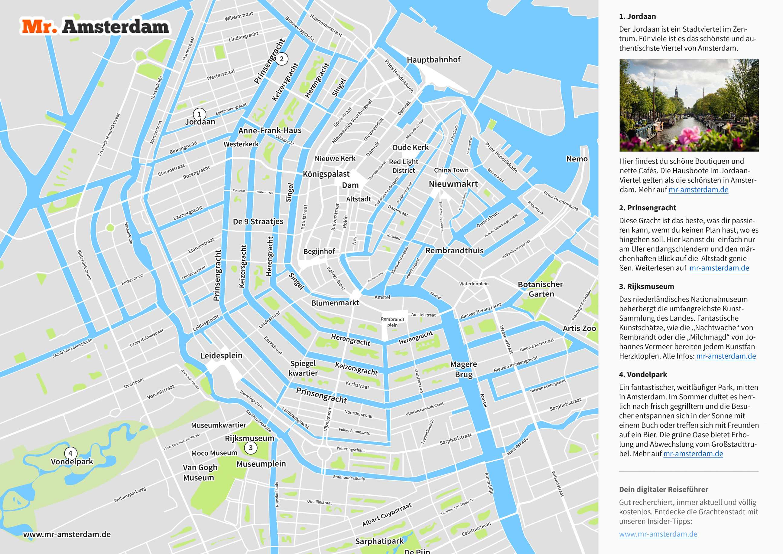 stadtplan von amsterdam kostenlos als pdf mr amsterdam. Black Bedroom Furniture Sets. Home Design Ideas