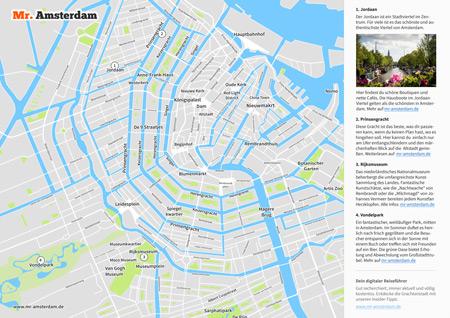 Stadtplan von Amsterdam – Kostenlos als PDF - Mr. Amsterdam