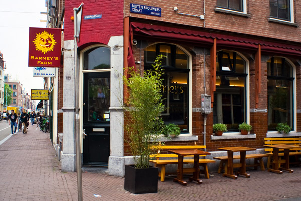 Barneys in der Haarlemerstraat, Amsterdam