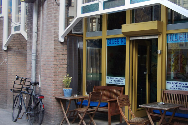 Bluebird Coffeeshop in Amsterdam